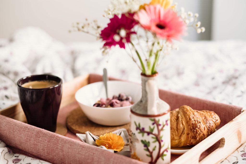 Breakfast in bed 9 - free stock photo