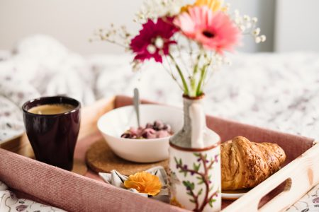 Breakfast in bed 9 - free stock photo