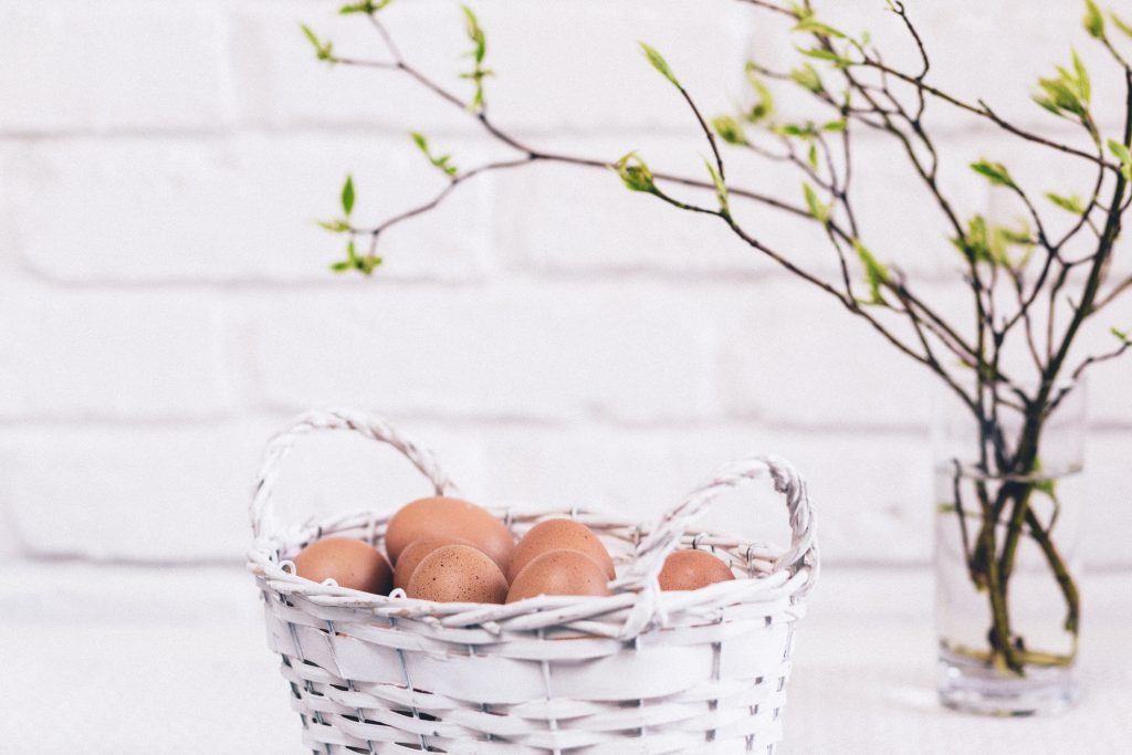 Easter basket 2 - free stock photo