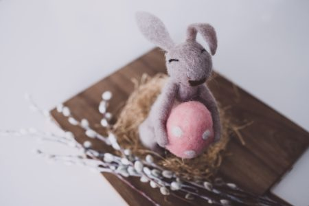 Easter bunny 4 - free stock photo