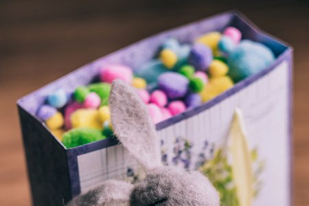 Easter bunny gift 2 - free stock photo