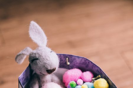 Easter bunny gift 5 - free stock photo