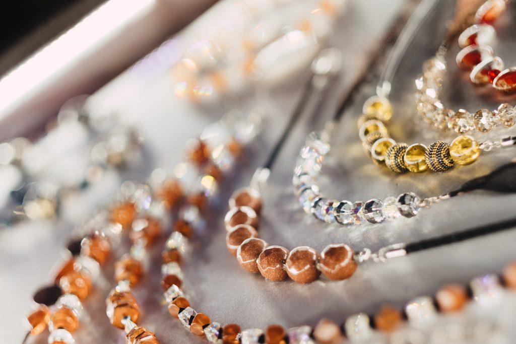 Jewelry display tray - free stock photo