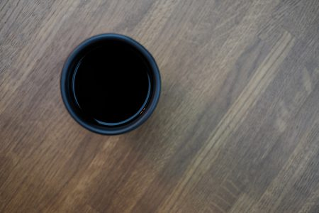Mug of coffee on a wooden table 2 - free stock photo