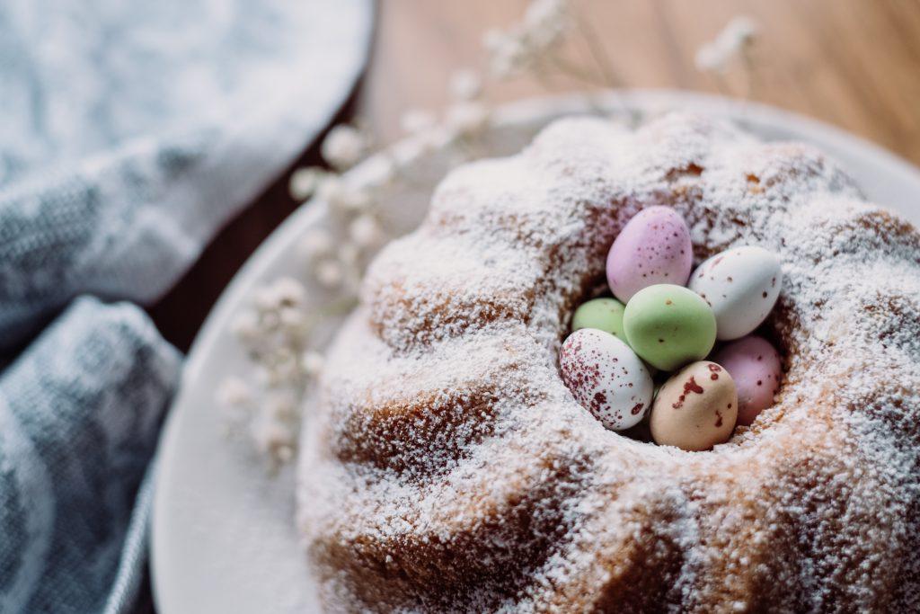 Pound Easter cake 10 - free stock photo