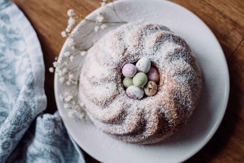 Pound Easter cake 7 - free stock photo