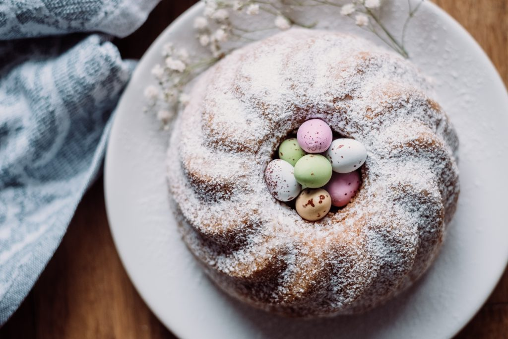 Pound Easter cake 8 - free stock photo