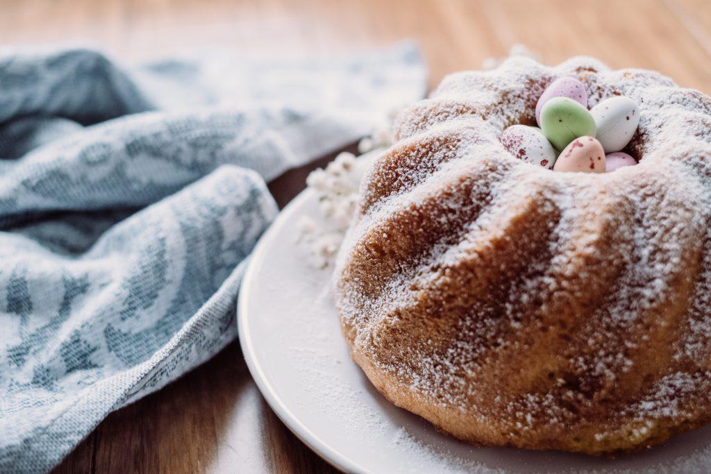 Pound Easter cake 9 - free stock photo