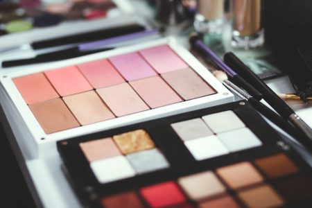 Blush and eyeshadow palettes - free stock photo