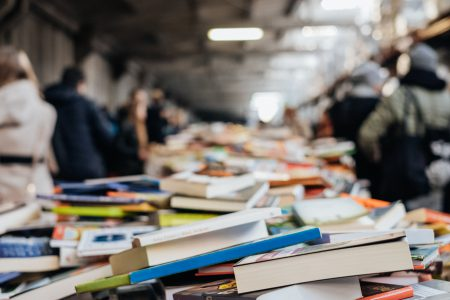 Book fair - free stock photo