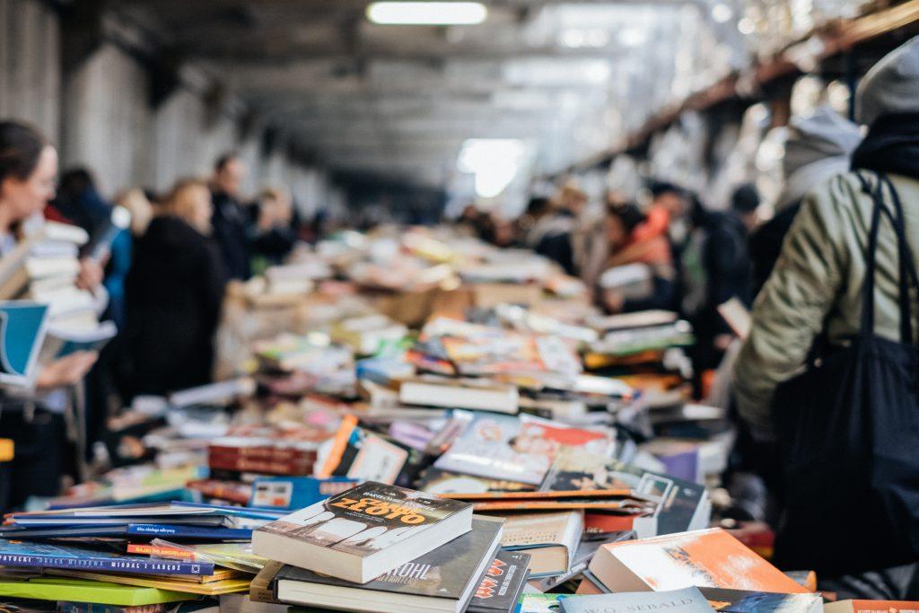 Book fair 2 - free stock photo