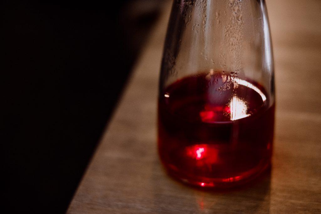 Fruit tea in a glass tea pot 5 - free stock photo