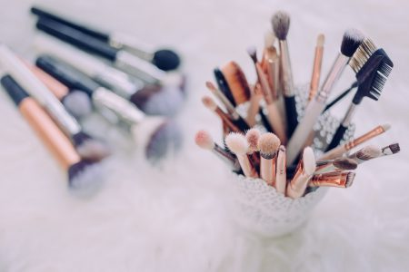 Makeup brushes 3 - free stock photo