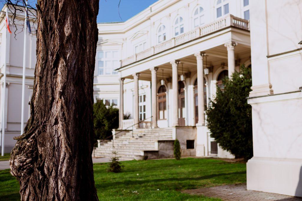 Neo-Renaissance diplomatic facility - free stock photo