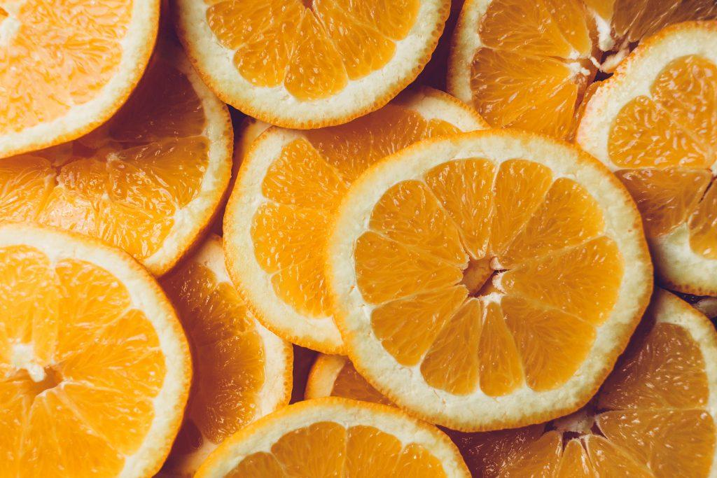 Orange slices - free stock photo