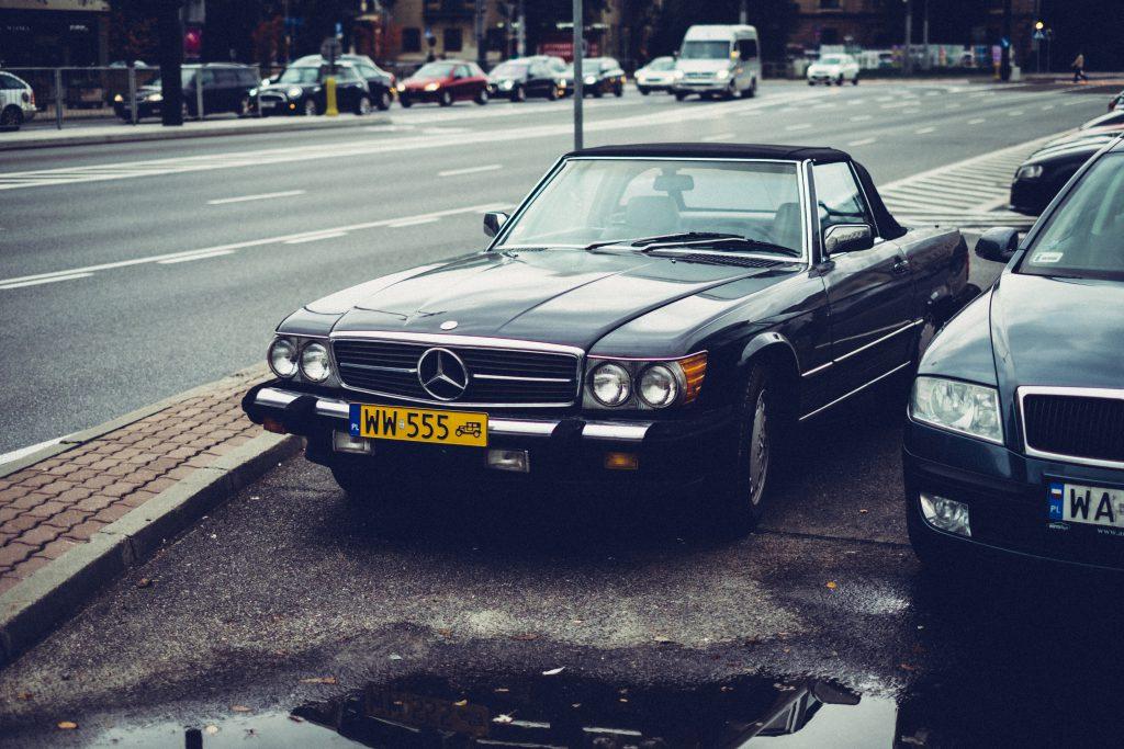 Retro Mercedes-Benz - free stock photo