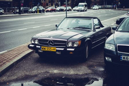 Retro Mercedes-Benz - free stock photo