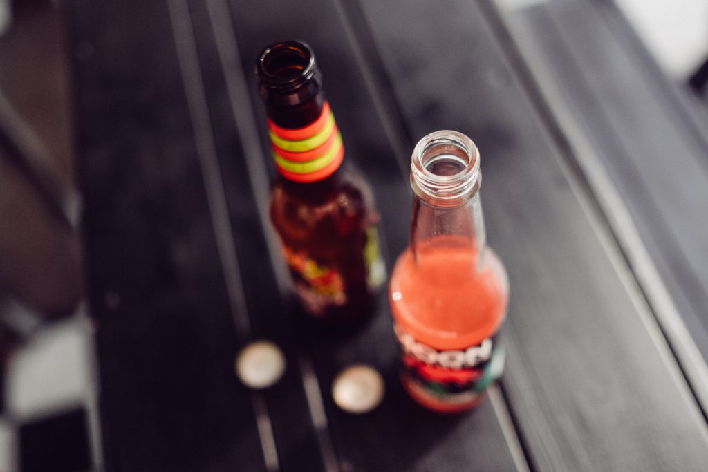 Two bottles of soda drinks - free stock photo