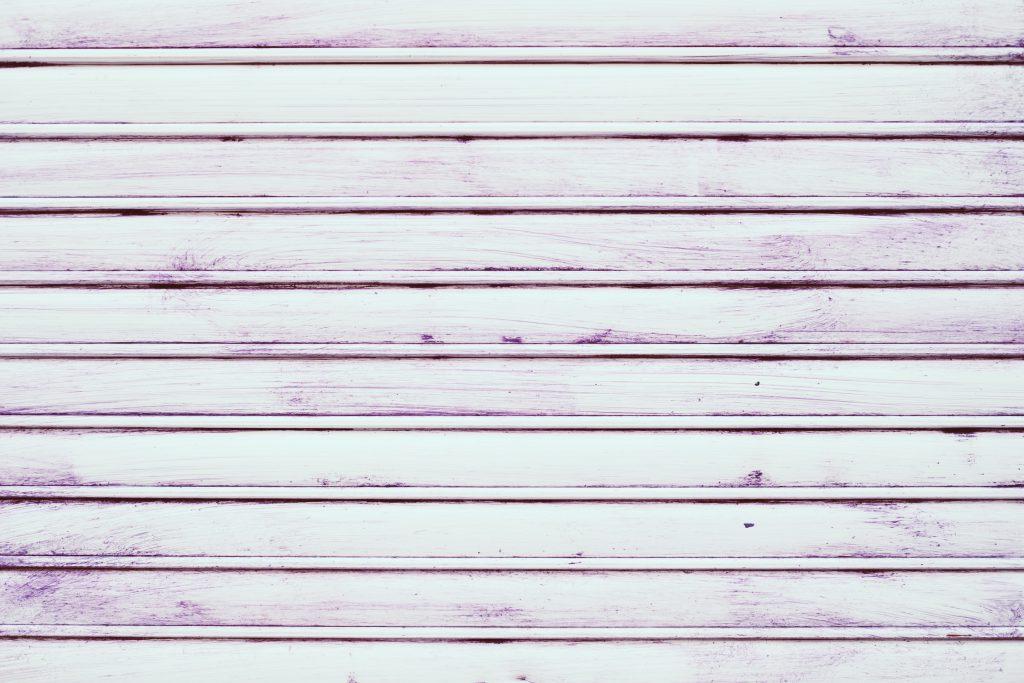 White stripe pattern with purple paint - free stock photo