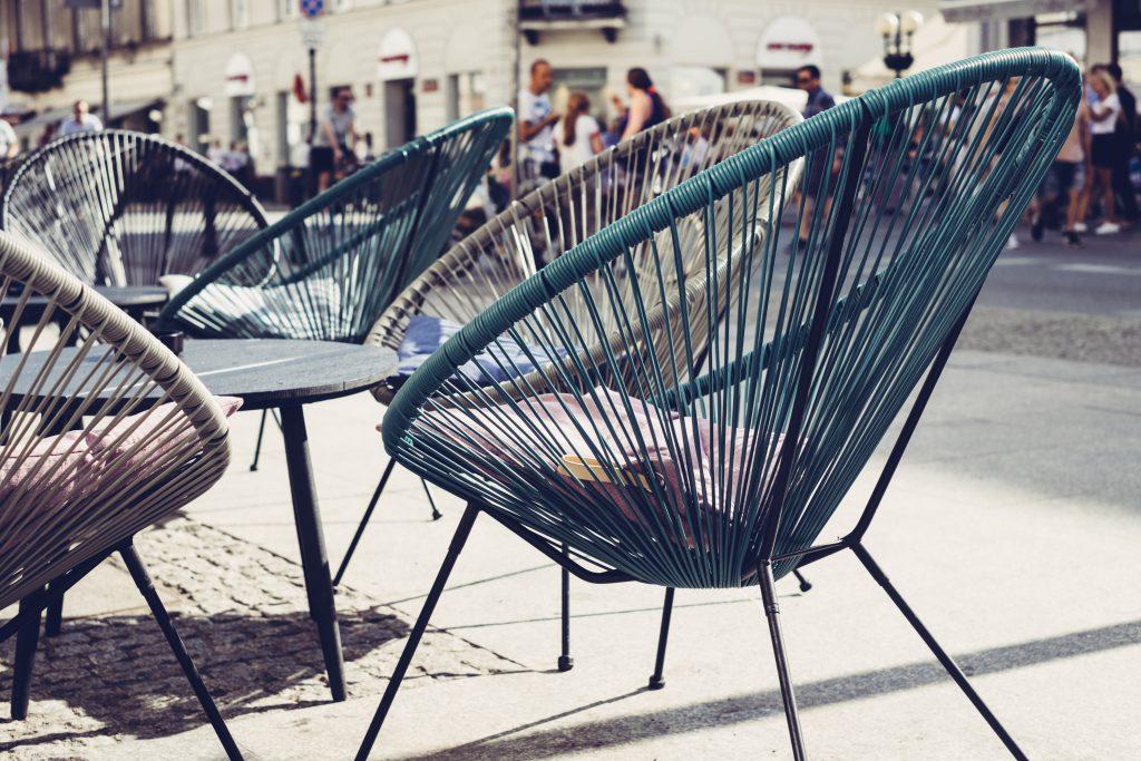 Café outdoor furniture 2 - free stock photo