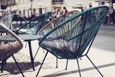 Café outdoor furniture 2 - free stock photo