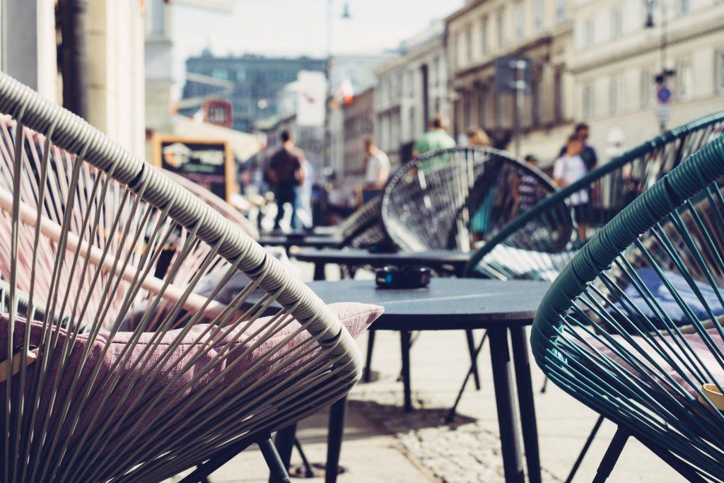 Café outdoor furniture 3 - free stock photo