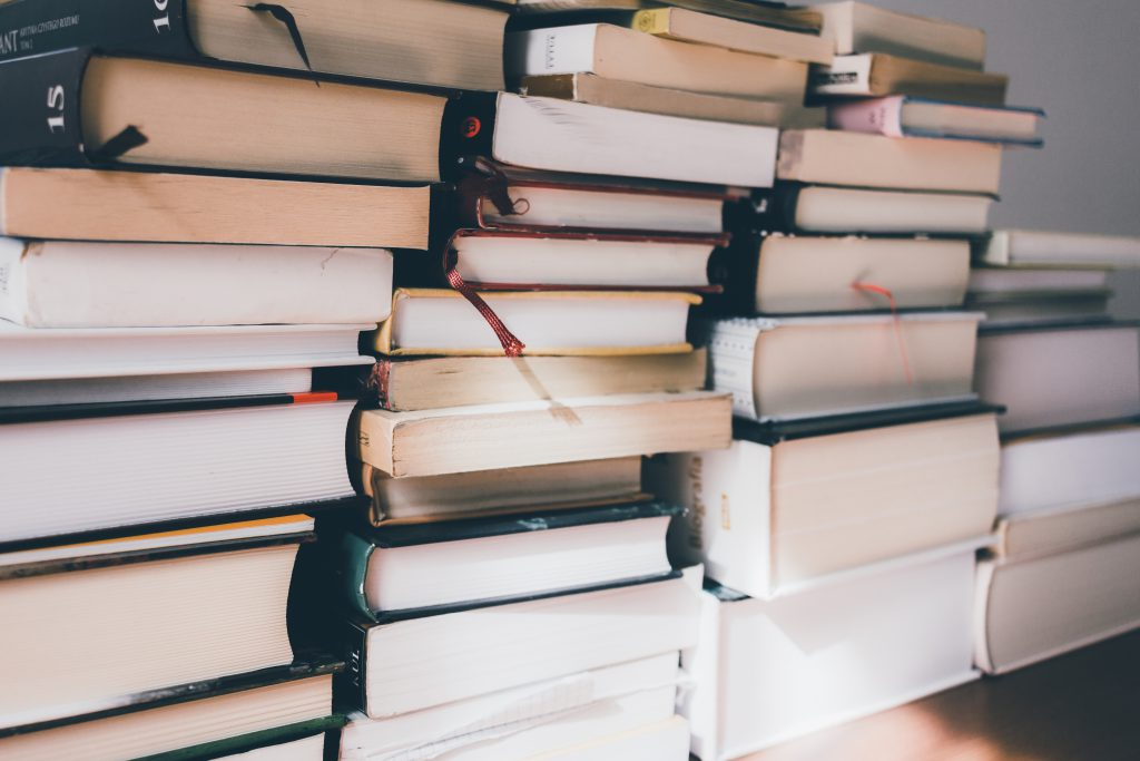 Pile of books 4 - free stock photo