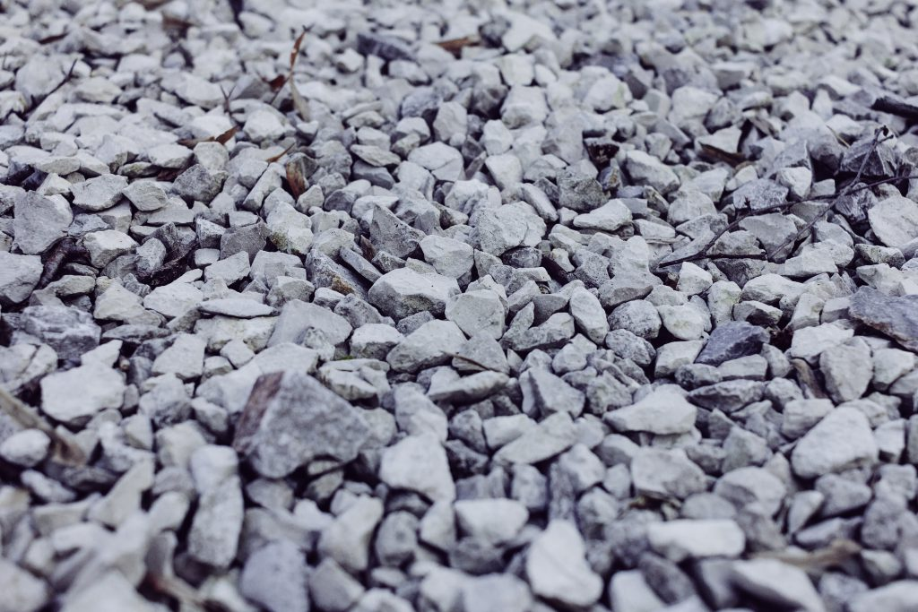 White and gray stones 2 - free stock photo