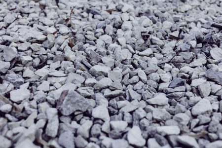 White and gray stones 2 - free stock photo