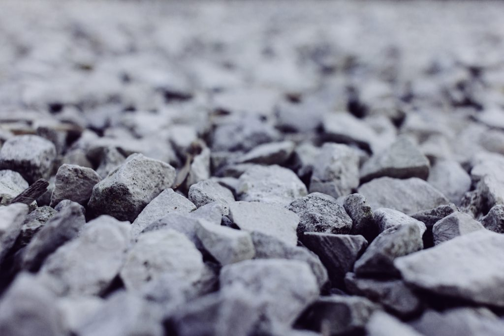 White and gray stones closeup 2 - free stock photo