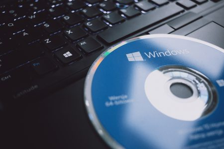 Windows software compact disk - free stock photo