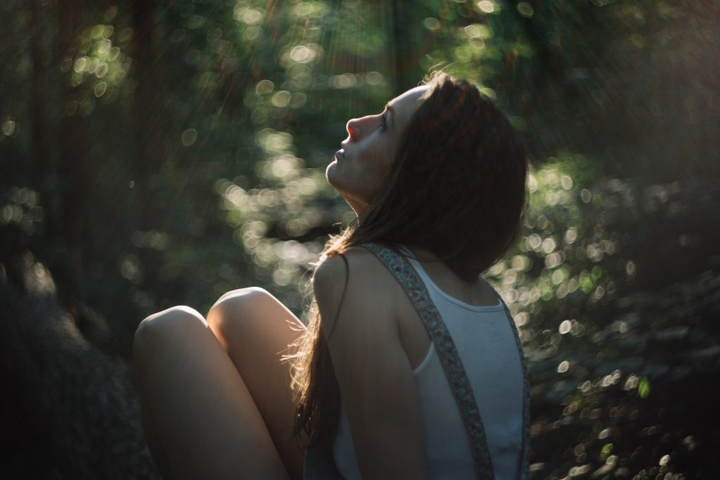 Girl portrait shot with helios - free stock photo