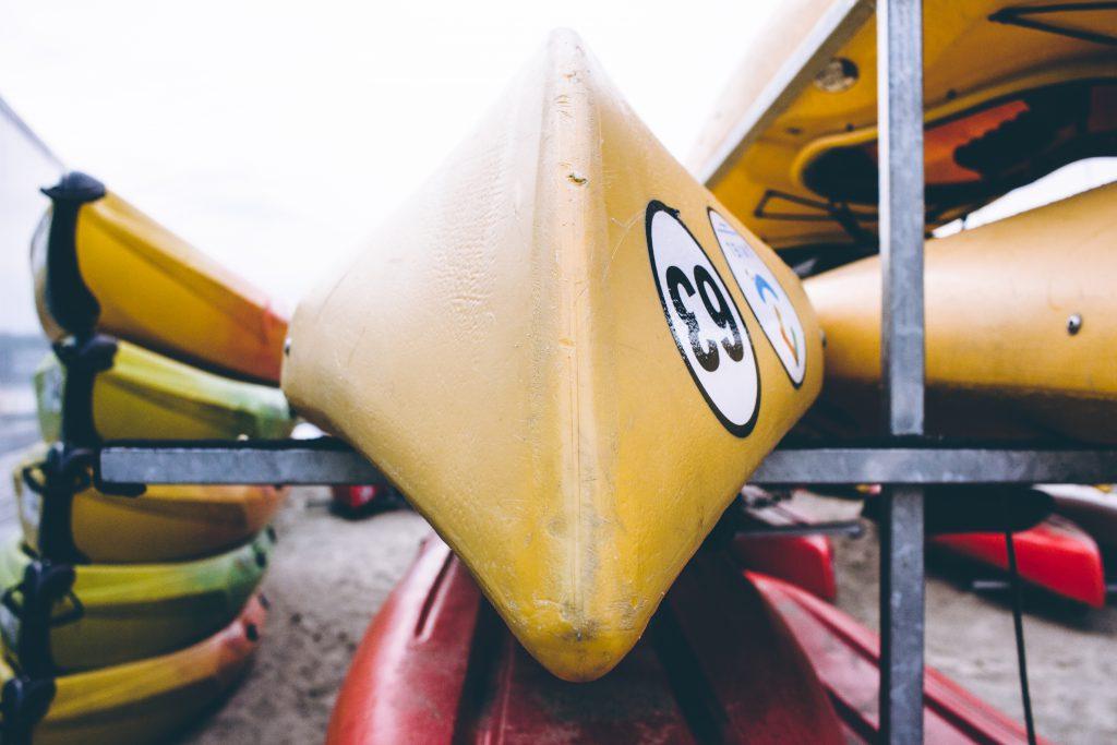 Kayak closeup - free stock photo