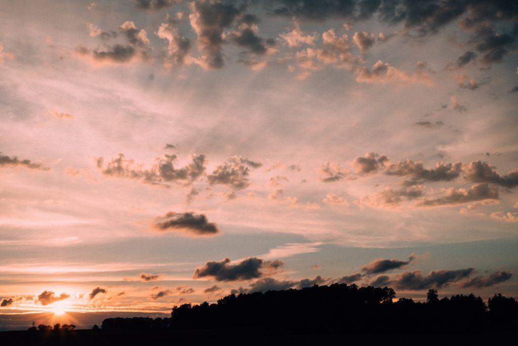 Late sunset 5 - free stock photo