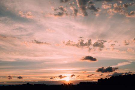 Late sunset 6 - free stock photo