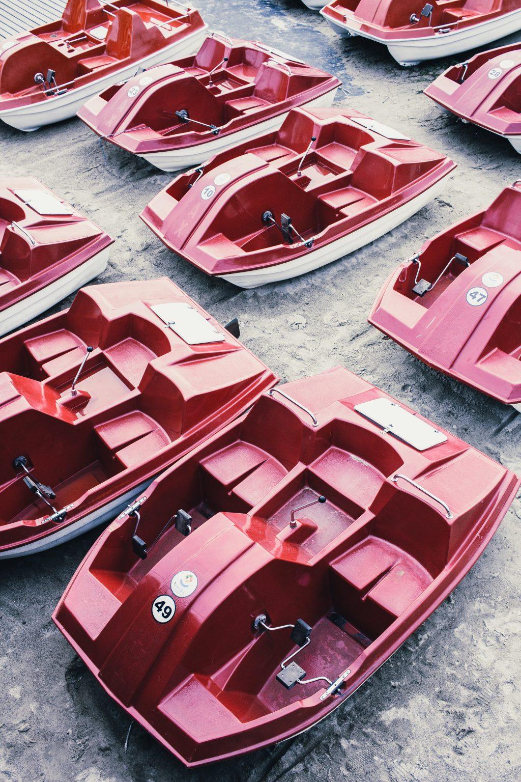 Paddle boats - free stock photo