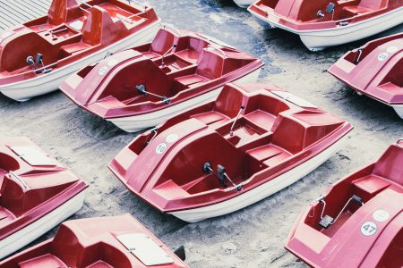 Paddle boats - free stock photo