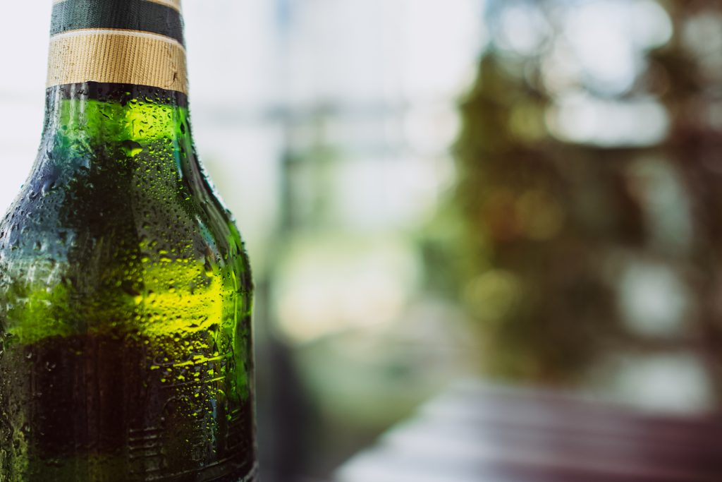 A bottle of cold beer 2 - free stock photo