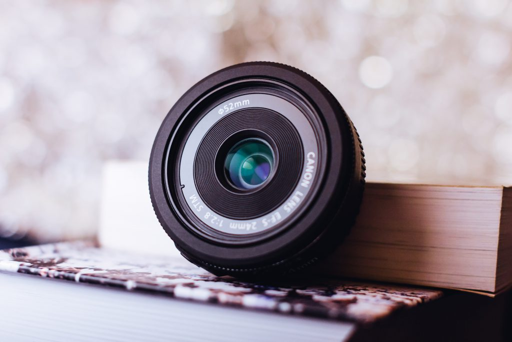 Canon camera lens - free stock photo