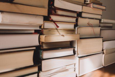 Pile of books 5 - free stock photo