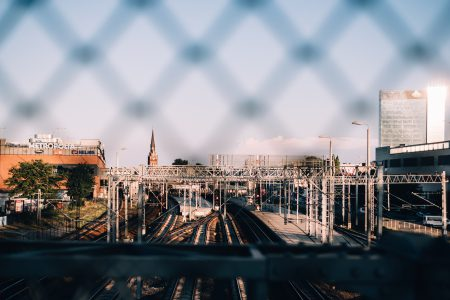 Big city railway station - free stock photo
