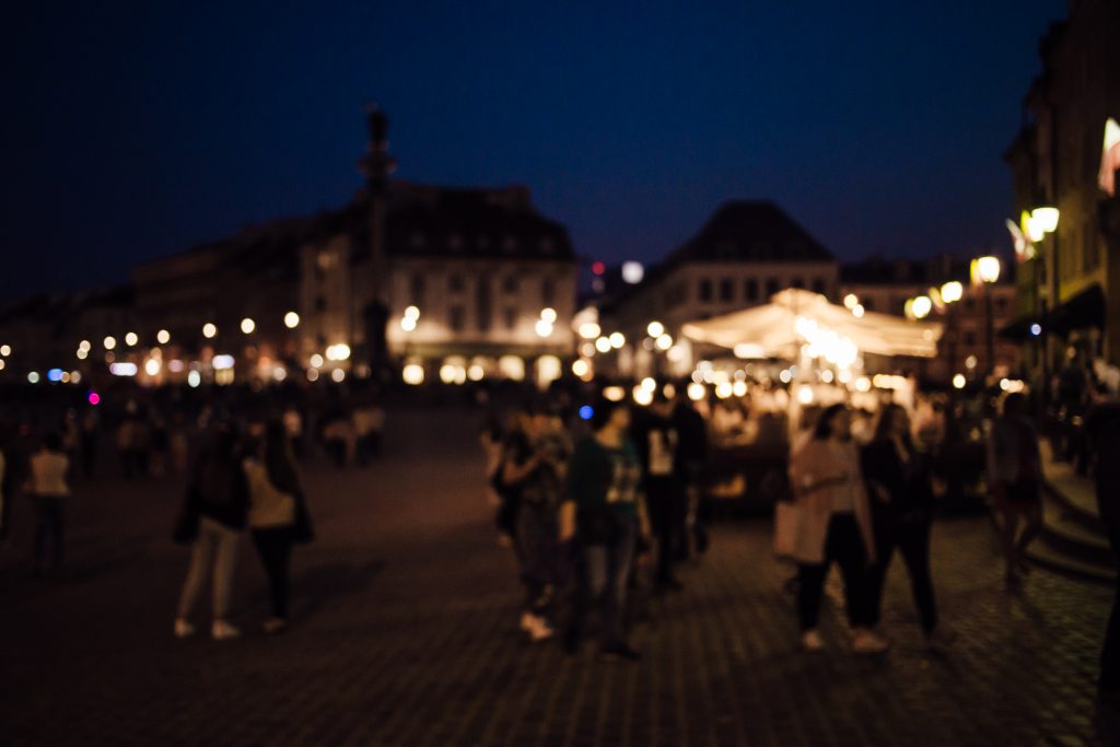 City Old Town at night - free stock photo