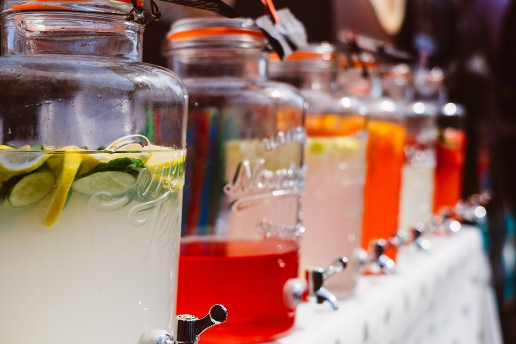 Fruit lemonades 2 - free stock photo