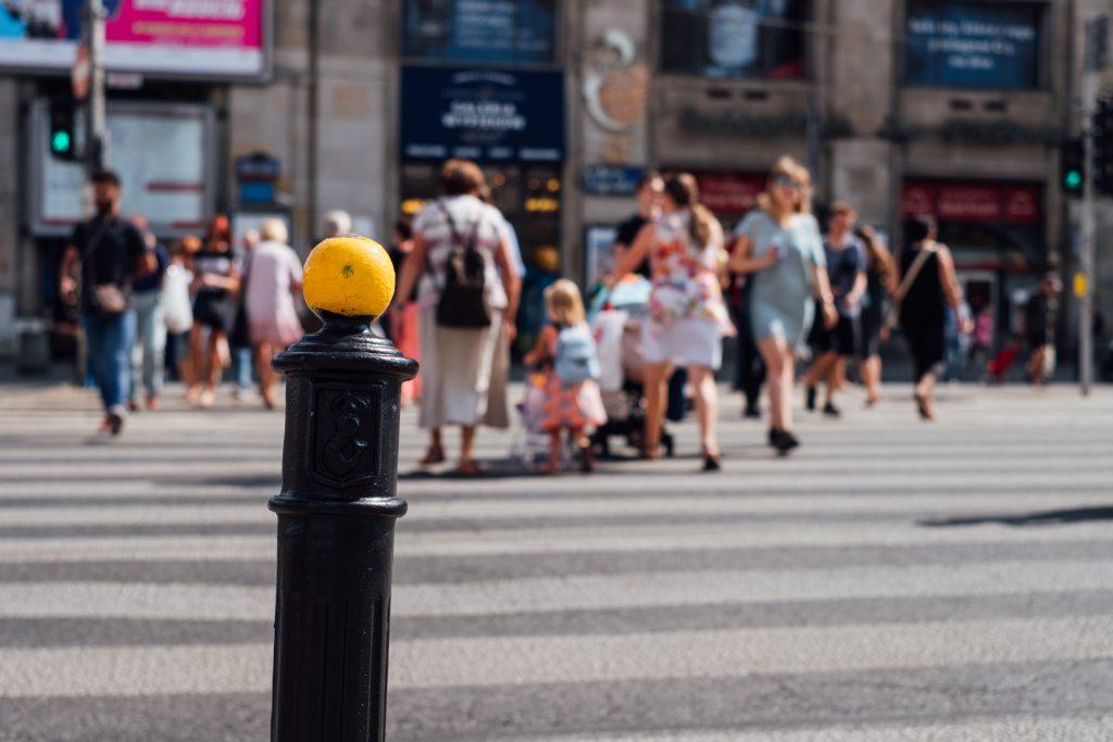 Pedestrian crossing - free stock photo