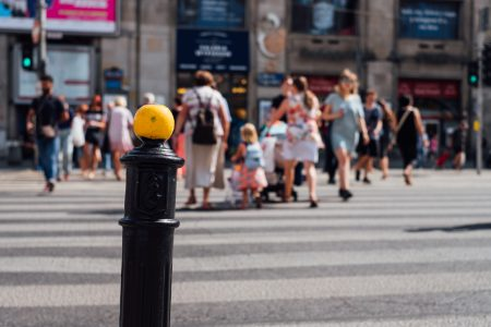 Pedestrian crossing - free stock photo