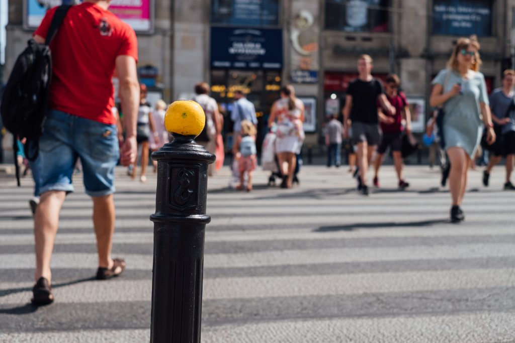 Pedestrian crossing 2 - free stock photo