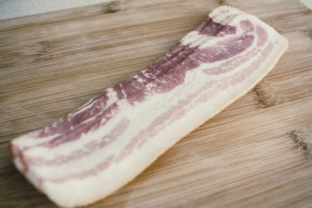 Bacon slices - free stock photo