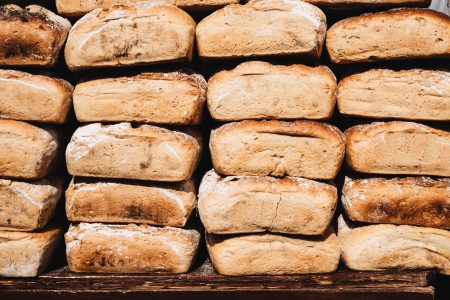 Bread display at the Saint Dominic's Fair 2 - free stock photo