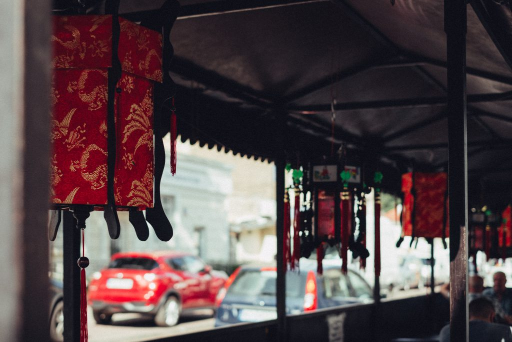 China street restaurant - free stock photo