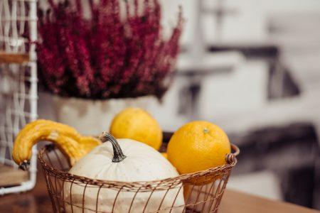 Halloween kitchen decoration closeup - free stock photo